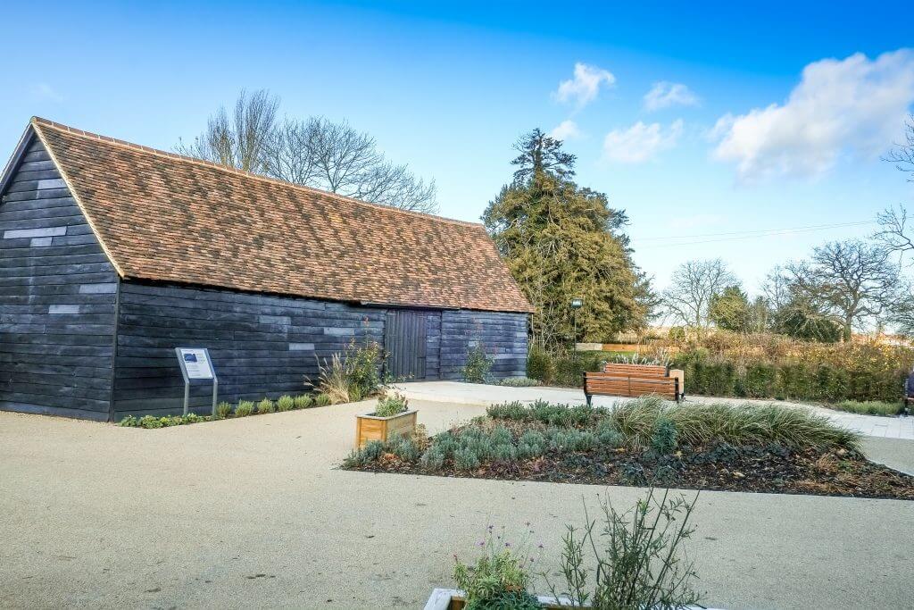 The Small Barn Exterior