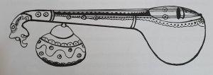 A sketch of a veena